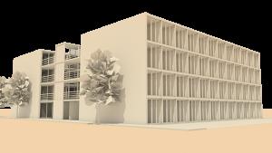 Unidade de Habitação baseada em Contentores m.arq arquitectura