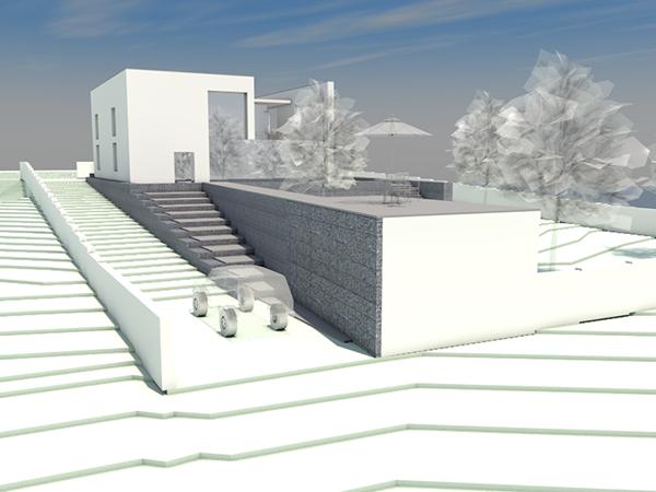 Moradia de adobe com estrutura metálica em angola solução de arquitectura baixo custo por m.arq