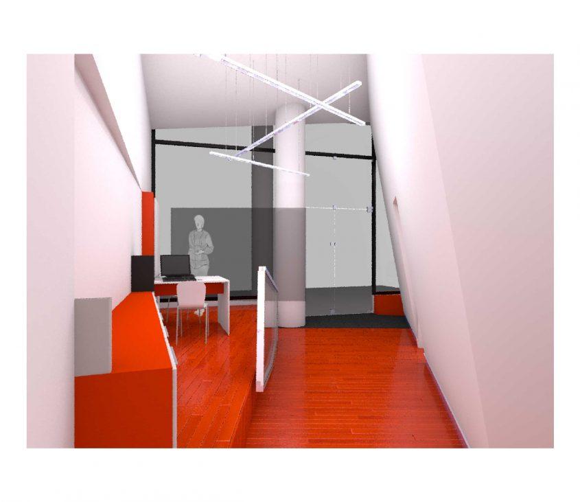 Recepção do escritorio devo m-arquitectura